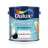 Dulux Easycare Bathroom - Pintura de brillo suave, Blanco (Pure Brilliant White ), 1 L