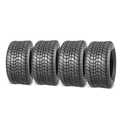 MaxAuto Golf Cart Tires 205/50-10 205x50-10 Low Profile, 4Pcs
