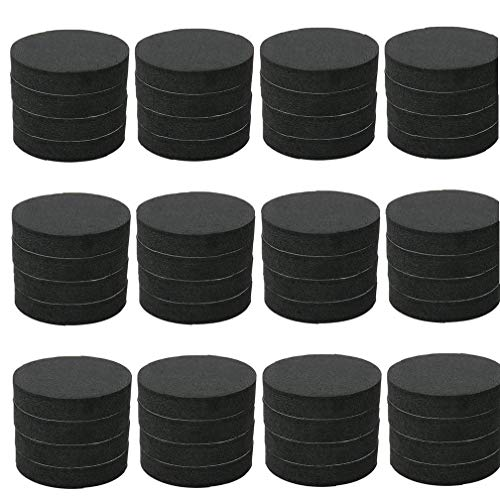 Plant Pot Feet EVA Invisible Flower Risers Pad Gardening Pot Feet Containers Accessories for Outdoor Plant 48PCS