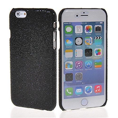 iPhone 6custodia, Coolke lusso glitter custodia rigida cover in plastica forte armatura per Apple iPhone 6(11,9cm), plastica, Black, Apple iPhone 6