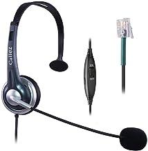 $22 » Callez Telephone Headset RJ9, with Noise Canceling Mic Mono, for ShoreTel 230 420 480 Polycom VVX310 VVX311 VVX410 VVX411 ...