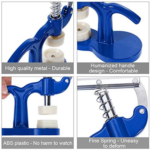Uhrenpresse Set Uhrmacher Tools Kit Uhrengehäuse Kristallglas Presswerkzeuge Set Uhrgehäuse schließen