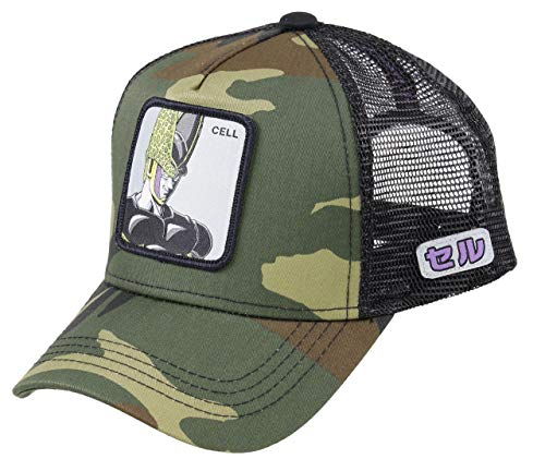 Capslab Cell Trucker Cap Dragon Ball Z Camouflage - One-Size