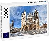 Lais Puzzle Plaza de Regla y Catedral de León, España 1000 Piezas
