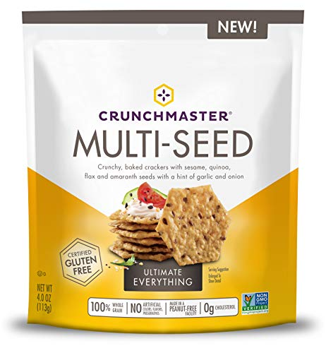 Crunchmaster Multi-Seed Crackers, Ultimate Everything, 4 Ounce
