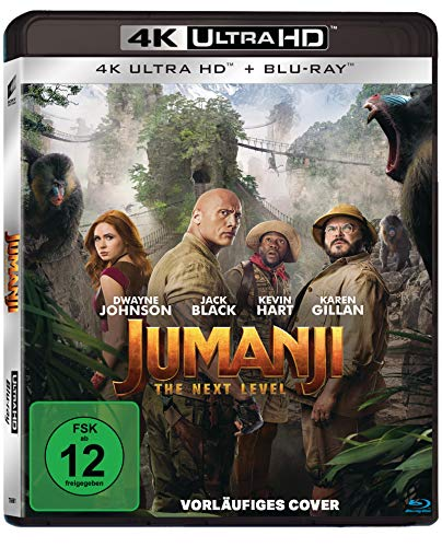 Jumanji: The Next Level - UHD [Blu-ray]