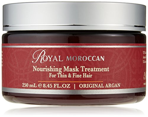 Máscara de cabello Royal Moroccan, tratamiento con vitamina E de 250ml