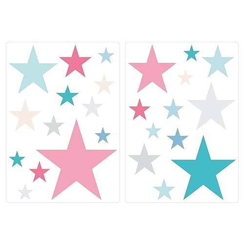 I-love-Wandtattoo Was 10442 Children's Bedroom Wall Sticker Set Stars for gluing 25