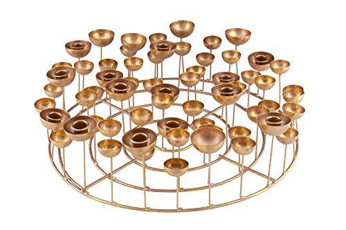 Gift Company - Medusa - Kerzenhalter - L - Gold