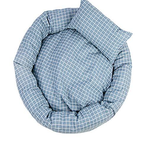 Kennel kattenbak huisdier nest ronde hondenmand verwijderbaar en wasbaar vierkant vier seizoenen universele verwijderbare wasbare kattenbak comfortabel