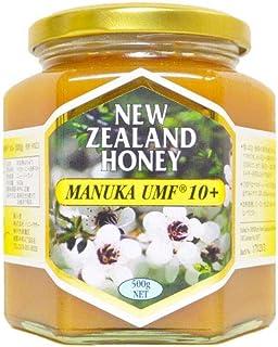 ハニーマザー マヌカハニー UMF10+ 500g 非加熱 100%純粋 ニュージーランド産 マヌカ蜂蜜