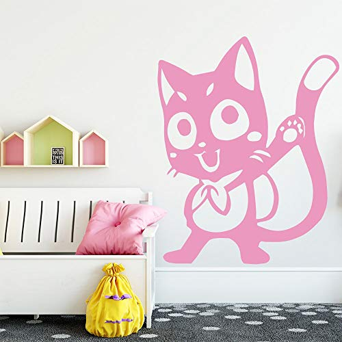 Kitty étanche Sticker Mural décoration de la Maison décoration de la Maison Salon Chambre Mur Art Autocollant Mural