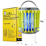 Camping Lantern Camping Accessories, IP67 Waterproof Rechargeable with Flashlights 4 Lighting Modes Dimmable Emergency LED Light for Home Party, Yard, Camping, Hiking, Fishing, Hurricane