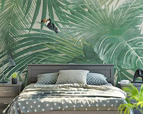 Papel tapiz fotográfico 3D Mural de plumas de cemento Sala de estar TV Sofá Dormitorio Decoración para el hogar Papel tapiz impermeable Lienzo Etiqueta 3D-350x210cm