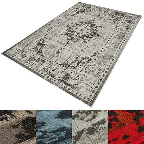 casa pura® Vintage Teppich   viele Größen   im angesagten Shabby Chic Look   für Wohnzimmer,...