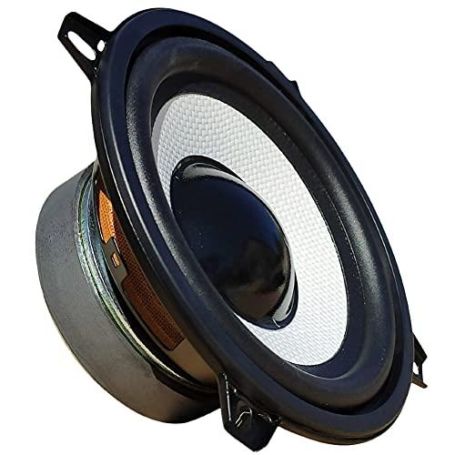 """1 MASTER AUDIO MA13BT/8 Altavoz woofer Blanco Profesional 13,00 cm 130 mm 5"""" 80 vatios rms 160 vatios máx 8 ohmios sensibilidad 91 db suspensión de Goma, 1 Pieza"""