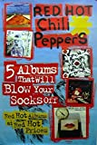 RHCP Red hot Chili Peppers: 5 Albums | original UK Promo