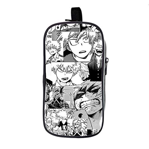 bgdo.cccc My Hero Academia Backpack School Bags for Teenagers Boys Girls Book Bags Laptop Travel Rucksack,Pencil case 5