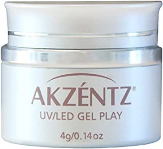AKZENTZ カラージェル ジェルプレイ グリッター プラチナクォーツ 4g UV/LED対応