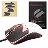 Hotline Games Mouse Anti-Slip Grip Tape for Glorious Model O / Model O Wireless Mouse Sweat Resistant Tape Pre Cut Pads Mouse Side Anti-Slip Stickers Mouse Skates Elastics Refined Side Grips