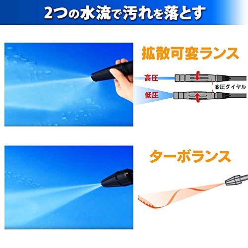 IRISOHYAMA(アイリスオーヤマ)『タンク式高圧洗浄機SBT-512N』