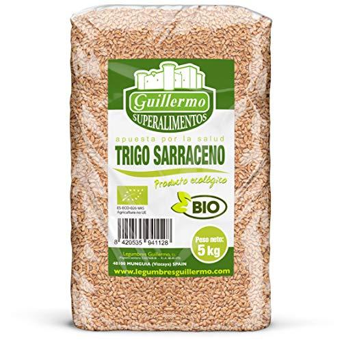 Guillermo Trigo Sarraceno Ecológico BIO Granel Superalimento 100% Natural 5kg