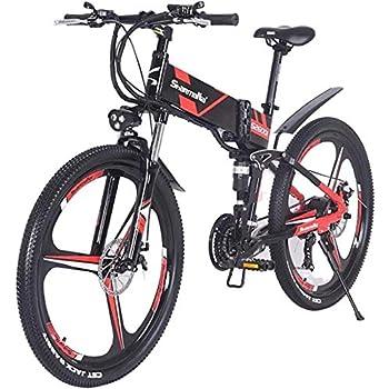 Bicicleta de montaña eléctrica 500w / 350w Hombres ebike Bicicleta ...