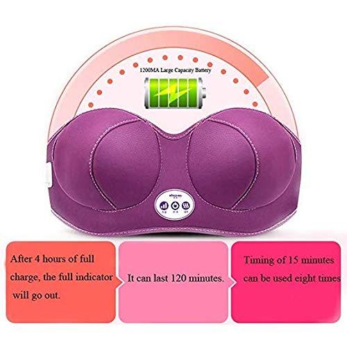 Unbekannt Elektrische Borstmassage, Brust Massagegerät elektrische Brust Schatztruhe Physiotherapie Instrument Cellulite Massagegerät de Formung BH Massageapparaat Breast Enlarger Met