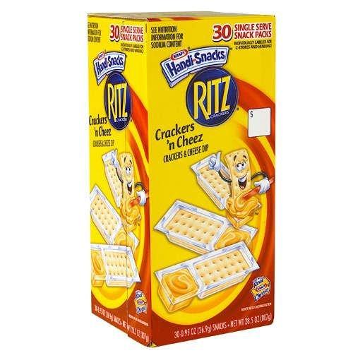 Kraft Crackers 'N Cheez - 30/.95 Oz. Packs