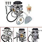New Carburetor for Yamaha YFM350 YFM400 YFM450 Big Bear Wolverine Kodiak Grizzly