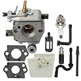 Coolwind WT-194 Carburetor for Stihl 024 026 MS240 MS260 Chainsaws with Fuel Oil Filter Tune Up Kit