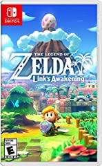 As Link, explore a reimagined Koholint Island and collect instruments to awaken the Wind Fish to find a way home Explore numerous dungeons, riddled with tricks, traps, and enemies, including some from the Super Mario series Meet and interact with uni...