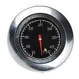 Termometro,In Acciaio Inox Termometro,Termometro per Forno,Forno di cottura del cestello del sonde del barbecue,(60°C -430°C)