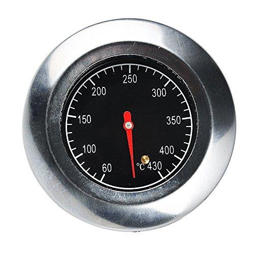 knowing Edelstahl Barbecue Thermometer,Ofen Kochen BBQ Sonde Bimetall Temperatur MessenOutdoor Edelstahl BackofenThermometer,(60°C -430°C)