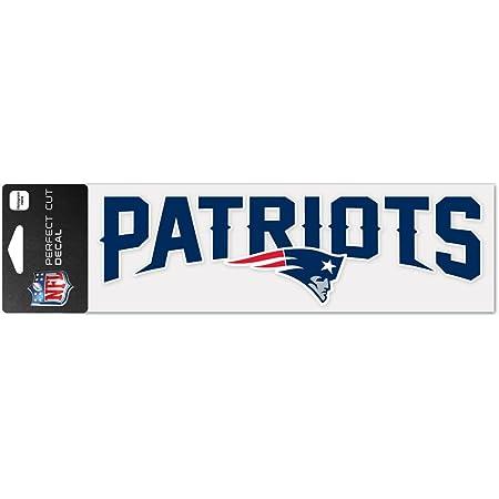 Nfl New England Patriots Wcr49116014 Perfekt Geschnittene Aufkleber 7 6 X 25 4 Cm Sport Freizeit