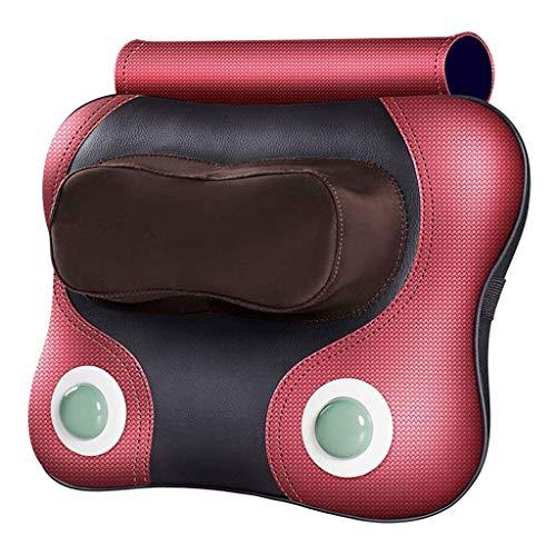 Hoofd nek Massager Car Home Cervicale Shiatsu-massage Nek taille met Heat 8 Massagekoppen Lichaam elektrisch Multifunctioneel massagekussen Kussen Zitkussen Bed Gebruik