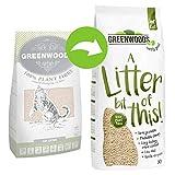 Greenwoods Arena natural de aglutinación rápida 2 x 30 L biodegradable para gatos