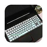 Teclado para teclado Lenovo Legion Y520 Y530 Y540 Y7000 (15 pulgadas), Y730 Y740 (17') Silicona – Gradual SkyBlue