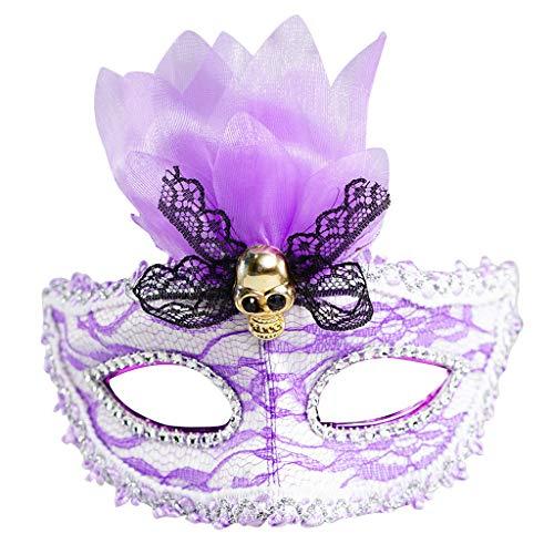 Halloween Maske, 5 Modi, TIREOW LED Leuchtend 7 Farb Lichter Augen Masken 230mAh Tanzen Party Festival Weihnachten