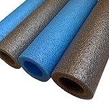 8 x Trampolin Schaumstoff rohre 180 cm (8 Stangen) BLAU, GRAU, universal Stangenschutz für...