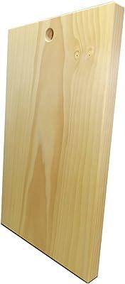 katajiya 木製まな板 国産 いちょう材【 無垢材一枚物】 本格使用の Lサイズ (450×270 厚30) ハンドメイド品 ※削り直し付※ 【即発送可】