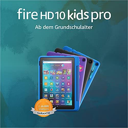Amazon Fire HD 10 Kids Pro – Kinder-Tablet (2021) ab Grundschule – 10,1 Zoll, 32 GB - 10