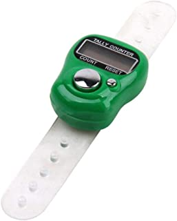 SOLDOUT™ Mini Digit LCD Digital Golf Finger Hand Ring Stitch Marker Row Tally Electronic Clicker Counter For Prayer Sewing...