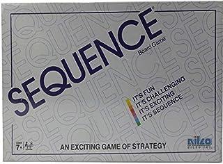 Nilco 12149 Sequence Board Game - White