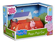 Free-wheeling car. Includes articulated Peppa Pig figure. Classic Peppa Pig styling. Make up your own Peppa Pig adventures! Scaled for play with other Little Character figures & playsets.