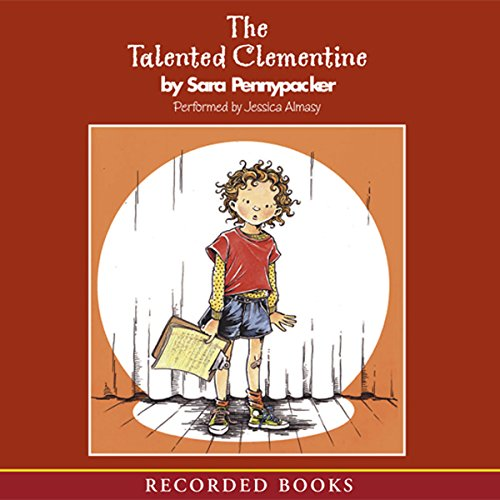The Talented Clementine audiobook cover art