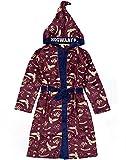 HARRY POTTER vestido de vestir para niños Opciones rojas o azules Pijama Robe 13-14 años