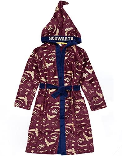 HARRY POTTER Robe de chambre pour enfants Robe rouge ou bleue Pajama Robe 14-15 ans