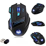 Zelotes F14 2.4 G Wireless Gaming Mouse Mice PC Mouse 2400 DPI 9 Buttons