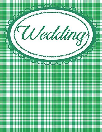 Irish Plaid Green Wedding Planner: Ireland Chic Bridal Organizer